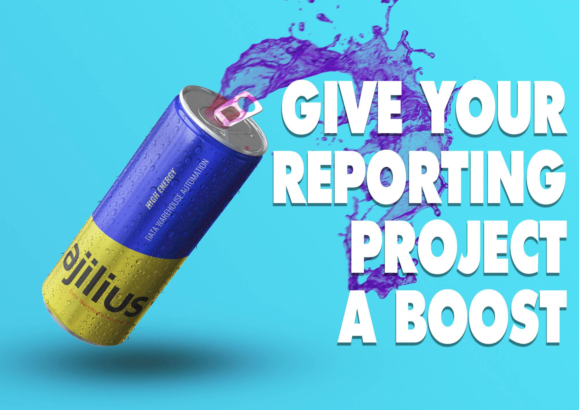 Give your reporting a boost with Ajilius Data Warehouse Automation